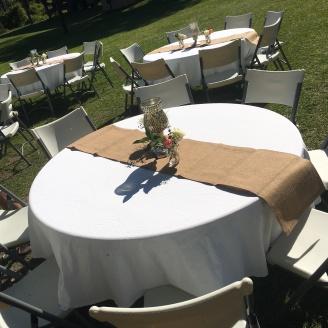 Lexies reception table