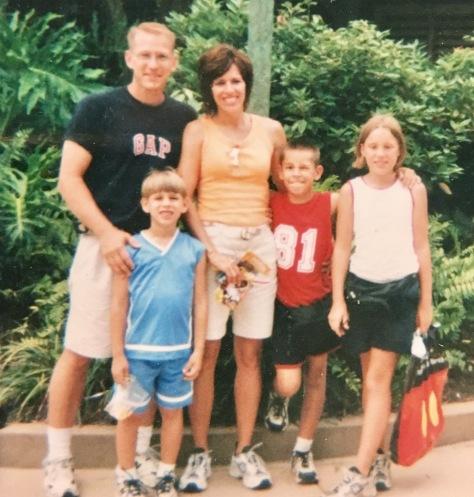 Family when kids were little