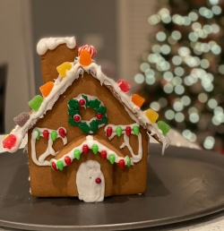 Gingerbread house pic